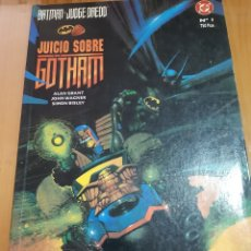 Cómics: BATMAN / JUDGE DREDD : JUICIO SOBRE GOTHAM - ALAN GRANT - SIMON BISLEY/ DC - ZINCO. Lote 182168158