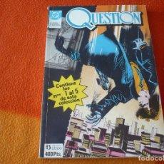 Cómics: QUESTION NºS 1 AL 5 RETAPADO ( O´NEIL COWAN ) ¡BUEN ESTADO! ZINCO DC. Lote 182178318