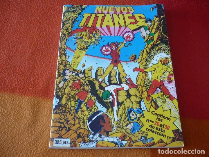 NUEVOS TITANES NºS 26 AL 30 RETAPADO ( WOLFMAN PEREZ ) ¡BUEN ESTADO! ZINCO DC (Tebeos y Comics - Zinco - Retapados)