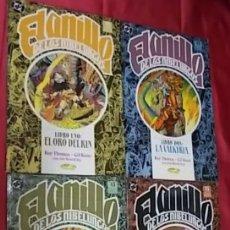 Cómics: EL ANILLO DE LOS NIBELUNGOS. COMPLETA. 4 TOMOS. EDICIONES ZINCO. Lote 182234693