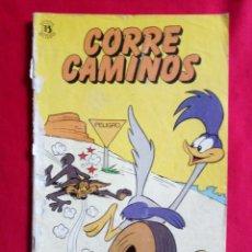 Cómics: CORRECAMINOS WARNER BROS N. 2 100 PTS. EDICIONES ZINCO 1985. Lote 182346330
