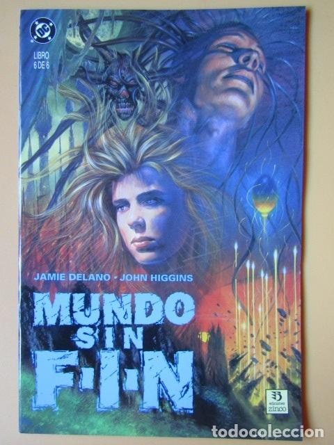 MUNDO SIN FIN. LIBRO 6 DE 6 - JAMIE DELANO. JOHN HIGGINS (Tebeos y Comics - Zinco - Otros)