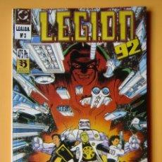 Cómics: L.E.G.I.O.N. 92. VOL. 3. CONTIENE LOS NÚMEROS 11 AL 15 DE ESTA COLECCIÓN - ALAN GRANT. BARRY KITSON.. Lote 182361198