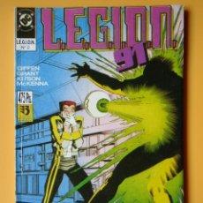 Cómics: L.E.G.I.O.N. 91. VOL. 2. CONTIENE LOS NÚMEROS 6 AL 10 DE ESTA COLECCIÓN - KEITH GIFFEN. ALAN GRANT. . Lote 182361207