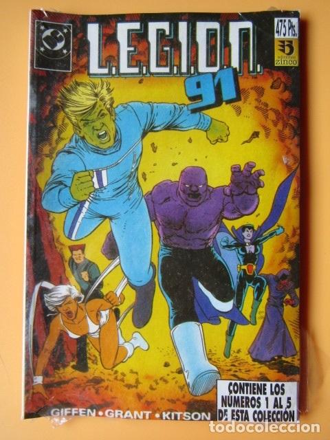 L.E.G.I.O.N. 91. VOL. 1. CONTIENE LOS NÚMEROS 1 AL 5 DE ESTA COLECCIÓN - KEITH GIFFEN. ALAN GRANT. B (Tebeos y Comics - Zinco - Legión 91)