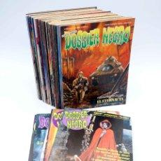 Cómics: DOSSIER NEGRO. LOTE DE 40 (VVAA) ZINCO / GIESA, 1983. VER LISTA. OFRT. Lote 182416338