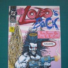 Cómics: LOBO'S BACK Nº 4 - EDICIONES ZINCO. Lote 182582783