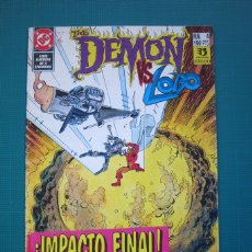 Cómics: THE DEMON VS. LOBO Nº 4 - EDICIONES ZINCO. Lote 182582858