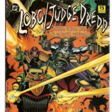 Cómics: LOBO / JUDGE DREDD. DC / ZINCO ( C/A13). Lote 182641150