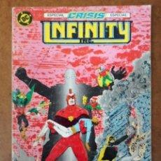 Comics: INFINITY INC. TOMO Nº 4 RETAPADO CON LOS NUMEROS 15 AL 18 - ZINCO. Lote 181941636