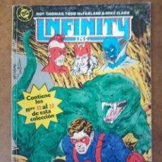 Cómics: INFINITY INC. TOMO Nº 5 RETAPADO CON LOS NUMEROS 19 AL 22 - ZINCO. Lote 181941793