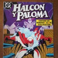 Comics: HALCON Y PALOMA COMPLETA EN TOMO RETAPADO CON LOS NUMEROS 1 AL 5 - ZINCO - BUEN ESTADO. Lote 181977771