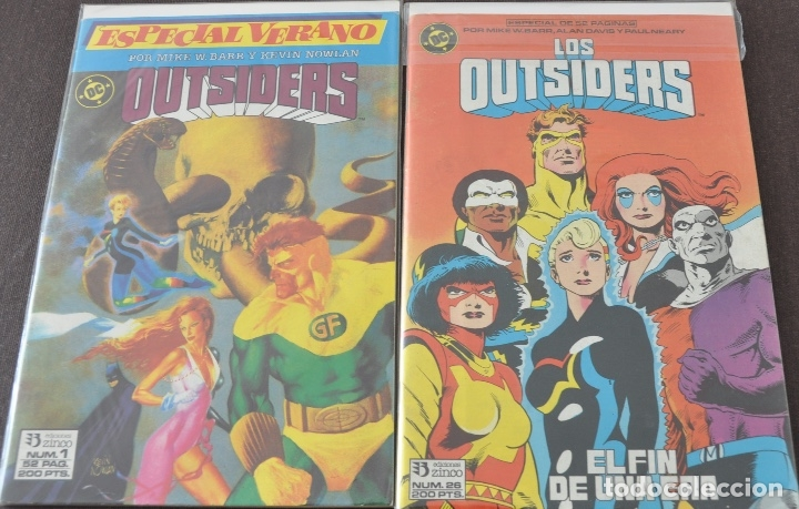 OUTSIDERS Y BATMAN COMPLETA + ESPECIAL LEER (Tebeos y Comics - Zinco - Outsider)