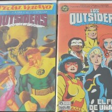Cómics: OUTSIDERS Y BATMAN COMPLETA + ESPECIAL LEER. Lote 182765371