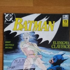 Cómics: BATMAN: EL ENIGMA CLAYFACE 2. Lote 182893563
