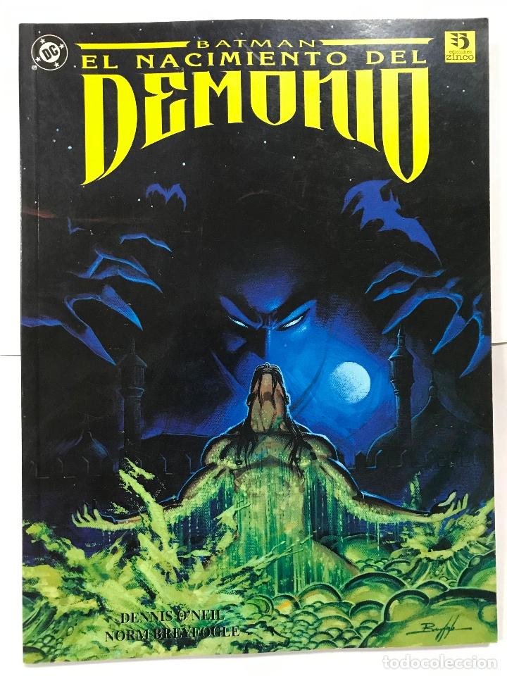 BATMAN ---- EL NACIMIENTO DEL DEMONIO, EDICIONES ZINCO, 1993 (Tebeos y Comics - Zinco - Batman)