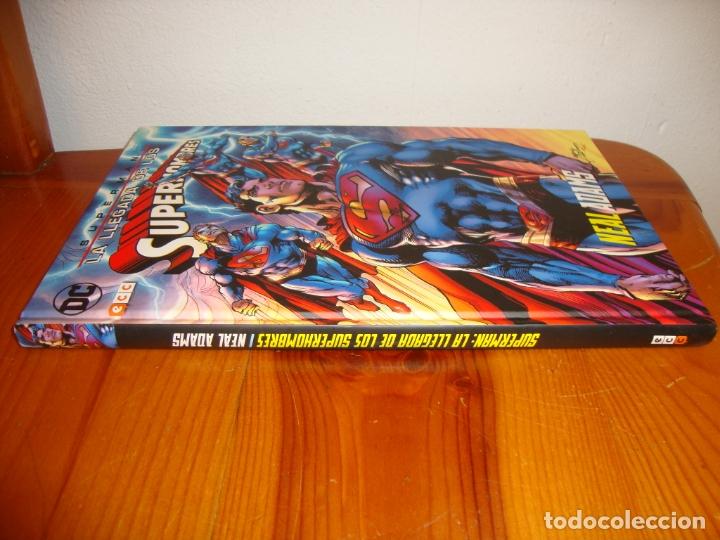 Cómics: SUPERMAN. LA LLEGADA DE LOS SUPERHOMBRES - NEAL ADAMS - DC / ECC, COMO NUEVO - Foto 2 - 183076667