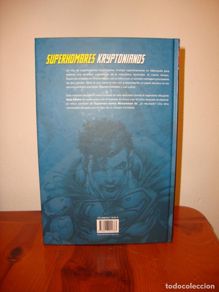Cómics: SUPERMAN. LA LLEGADA DE LOS SUPERHOMBRES - NEAL ADAMS - DC / ECC, COMO NUEVO - Foto 3 - 183076667
