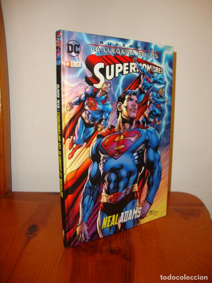 SUPERMAN. LA LLEGADA DE LOS SUPERHOMBRES - NEAL ADAMS - DC / ECC, COMO NUEVO (Tebeos y Comics - Zinco - Superman)
