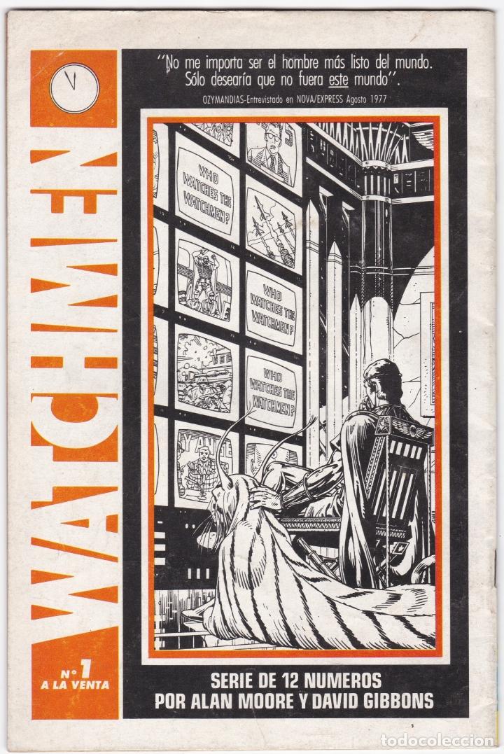 Cómics: INFINITY INC Nº 5 - SUPERMAN - CON UN KRYPTONIANO BASTA - SUPERHEROES - Foto 3 - 183077846