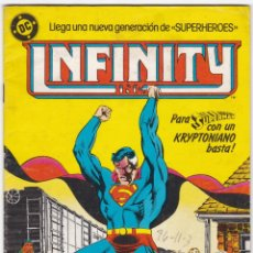 Cómics: INFINITY INC Nº 5 - SUPERMAN - CON UN KRYPTONIANO BASTA - SUPERHEROES. Lote 183077846