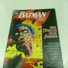 Cómics: BATMAN: UNA MUERTE EN LA FAMILIA 3. Lote 183191958