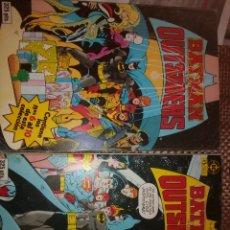 Cómics: BATMAN Y LOS OUTSAIDERS - TOMO 1 Y 2. Lote 183308592