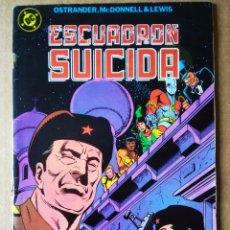 Cómics: ESCUADRÓN SUICIDA N°1 (ZINCO, 1988). POR OSTRANDER, MCDONNELL Y LEWIS. 'MISIÓN EN MOSCÚ'.. Lote 183384917