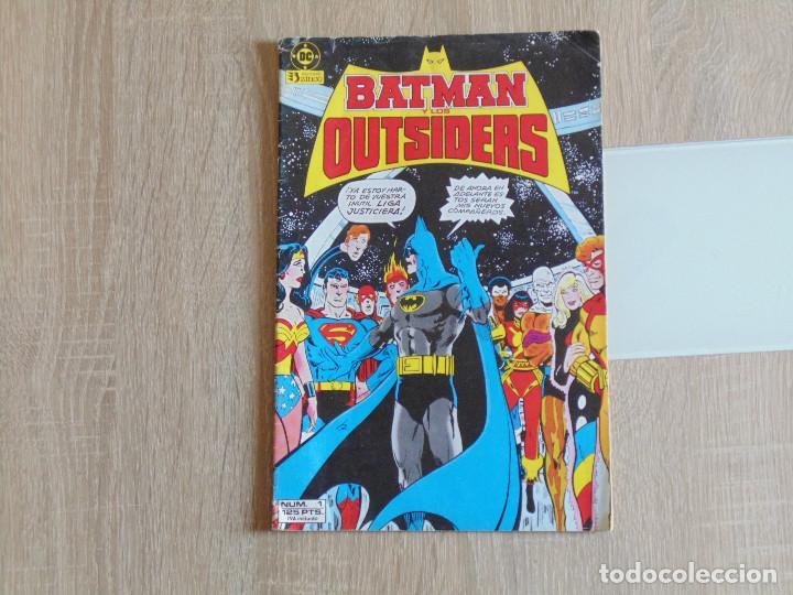 BATMAN Y LOS OUTSIDERS Nº 1. ZINCO (Tebeos y Comics - Zinco - Outsider)