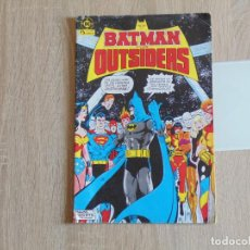 Cómics: BATMAN Y LOS OUTSIDERS Nº 1. ZINCO. Lote 183506458