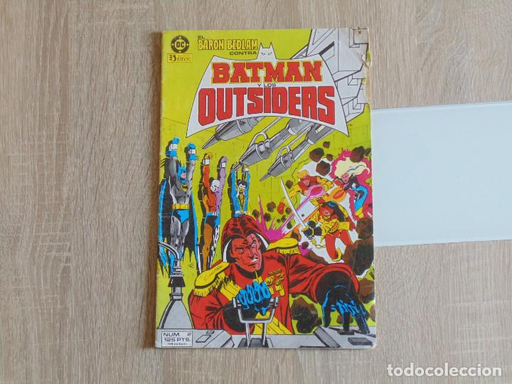 BATMAN Y LOS OUTSIDERS Nº 2. ZINCO (Tebeos y Comics - Zinco - Outsider)