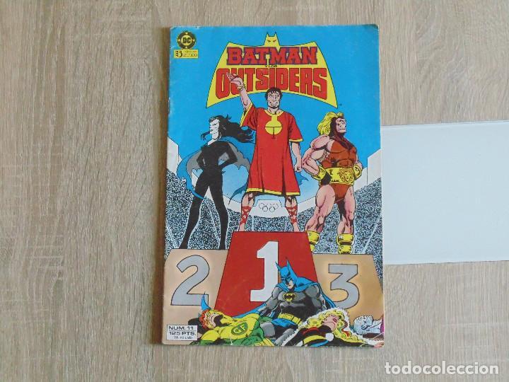 BATMAN Y LOS OUTSIDERS Nº 11. ZINCO (Tebeos y Comics - Zinco - Outsider)