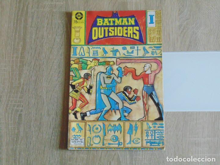 BATMAN Y LOS OUTSIDERS Nº 12. ZINCO (Tebeos y Comics - Zinco - Outsider)