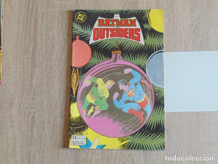 BATMAN Y LOS OUTSIDERS Nº 14. ZINCO (Tebeos y Comics - Zinco - Outsider)