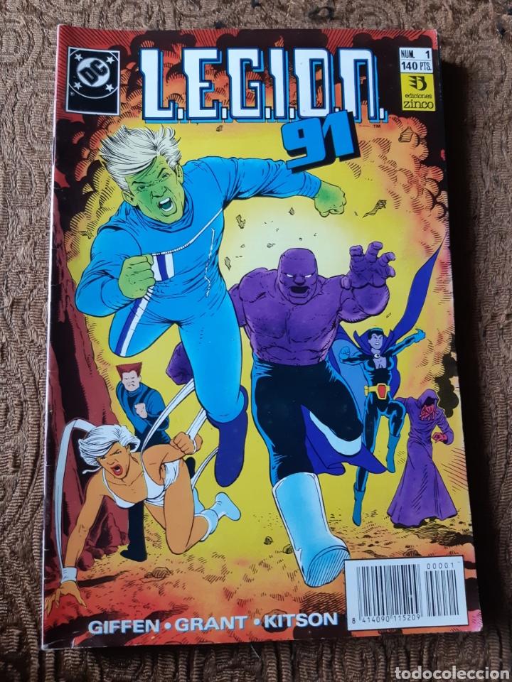 TEBEOS-CÓMICS CANDY - LEGION 91 NUM 1 - ZINCO - AA98 (Tebeos y Comics - Zinco - Legión 91)