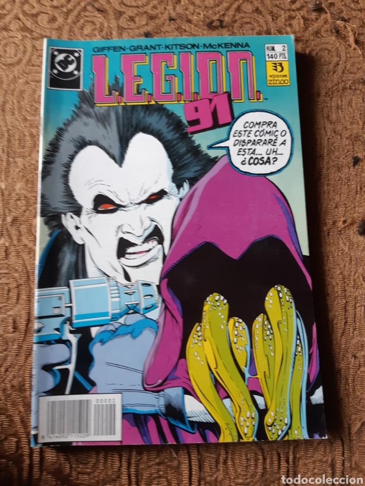 TEBEOS-CÓMICS CANDY - LEGION 91 NUM 2 - ZINCO - AA98 (Tebeos y Comics - Zinco - Legión 91)