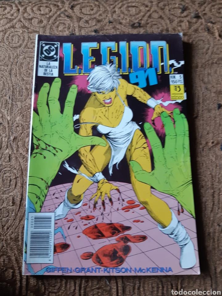 TEBEOS-CÓMICS CANDY - LEGION 91 NUM 5 - ZINCO - AA98 (Tebeos y Comics - Zinco - Legión 91)