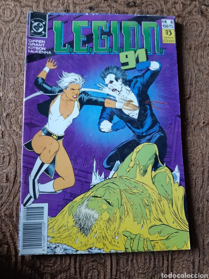 TEBEOS-CÓMICS CANDY - LEGION 91 NUM 8 - ZINCO - AA98 (Tebeos y Comics - Zinco - Legión 91)