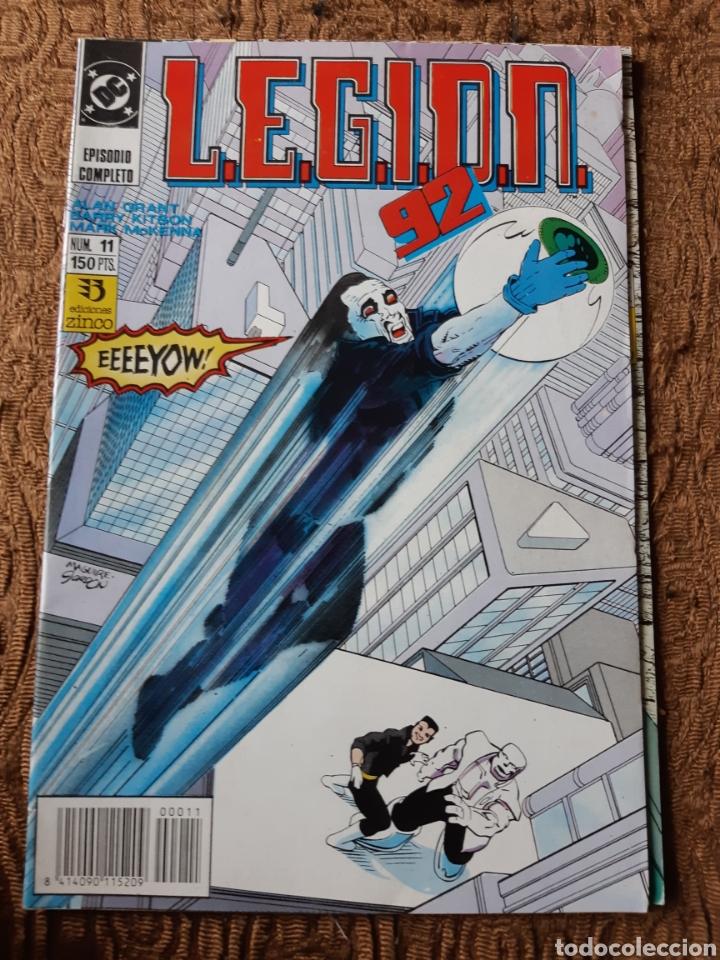 TEBEOS-CÓMICS CANDY - LEGION 92 NUM 11 - ZINCO - AA99 (Tebeos y Comics - Zinco - Legión 91)