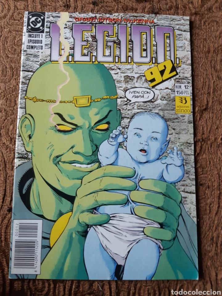 TEBEOS-CÓMICS CANDY - LEGION 92 NUM 12 - ZINCO - AA99 (Tebeos y Comics - Zinco - Legión 91)