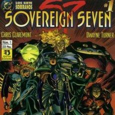 Cómics: SOVEREIGN SEVEN- Nº 1 - EL COMIENZO- 1995-C. CAREMONT-DWAYNE TURNER-NÚMERO ÚNICO-PERFECTO-LEAN-2378. Lote 183622470