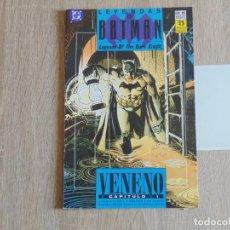 Cómics: LEYENDAS DE BATMAN Nº 16. VENENO CAPITULO 1. ZINCO. Lote 183674553