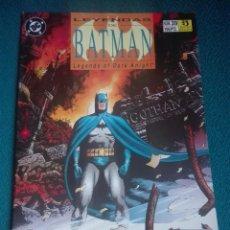Cómics: LEYENDAS DE BATMAN 39 # Y5. Lote 183687545
