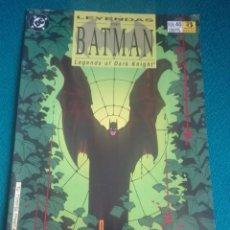 Cómics: LEYENDAS DE BATMAN 40 # Y5. Lote 183687600
