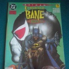 Cómics: BATMAN EL REGRESO DE BANE - LA REDENCIÓN# Y5. Lote 183687727