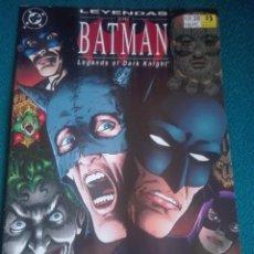 Cómics: LEYENDAS DE BATMAN 38 # Y5. Lote 183687827