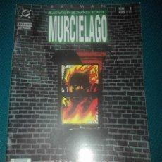 Cómics: BATMAN ANUAL LEYENDAS DEL MURCIÉLAGO NUM 1# Y5. Lote 183734516