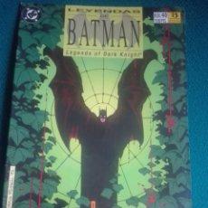 Cómics: LEYENDAS DE BATMAN 40 # Y5. Lote 183821421
