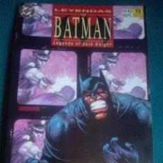 Cómics: LEYENDAS DE BATMAN 42 # Y5. Lote 183821516