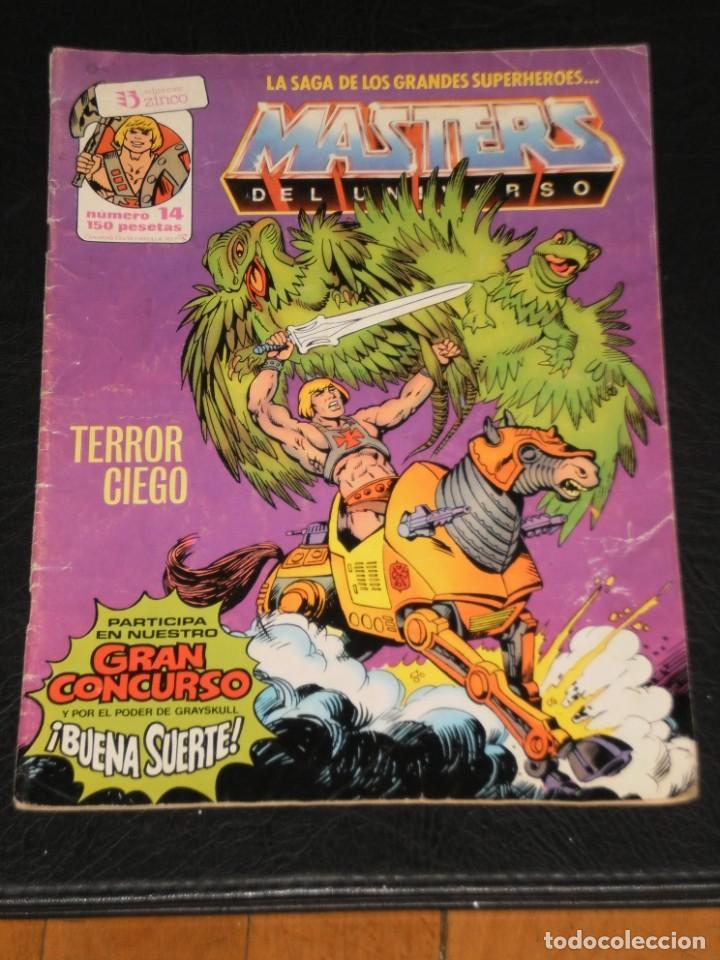 MASTERS DEL UNIVERSO - Nº 14 - / EDICIONES ZINCO (Tebeos y Comics - Zinco - Otros)